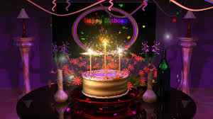 happy birthday images animated happy birthday cake presentation animation video coub gifs