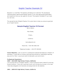 Spanish Teacher Resume Sample Spanish Teacher Resume Samples High School In Examples sraddme 49