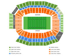 Lincoln Financial Field Seating Map First Niagara Pavilion