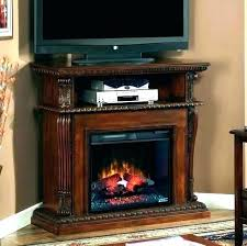 fireplace tv stand costco fake fireplace stand