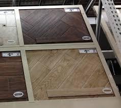 Home Depot Tile That Looks Like Hardwood!