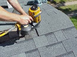 architectural shingles installation. Nailing Ridge Cap Shingles. Architectural Shingles Installation
