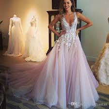 discount designer blush wedding dresses arabic dubai tulle wedding
