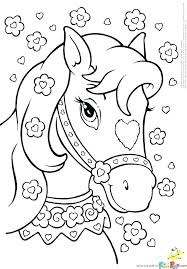 Wild Horse Coloring Pages Free Horse Coloring Pages 7 Detail