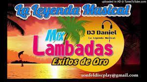 Lambadas de Oro_Super Mix - Sonfel Discplay - YouTube