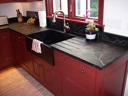 vermont soapstone makes stunning custom kitchen counters and a front sinks