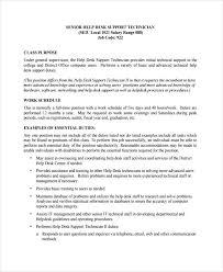 Help Desk Support Resume Objective Artikelonline Xyz