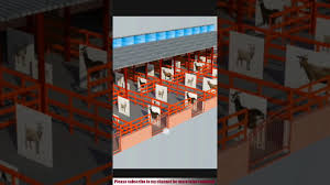 Goat Shed Design And Pictures How To Design Goat Shed With 3d View Goat Shed Design 2019 Goat Farm Shed Design