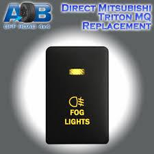 mitsubishi triton mq push switch mitsubishi push switch 217o fog lights on off amber