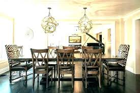 chandelier height above table dining room chandelier