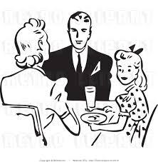 dinner table clipart black and white. dinner clip art black and white · dining table clipart u
