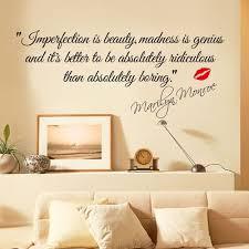 Marilyn Monroe Slavné Citáty Angličtina Přísloví Nálepky Na Stěnu Diy S At Vova