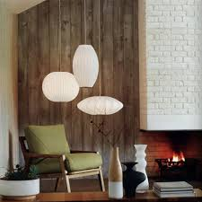 george nelson lighting. BVH Bubble Lamp Cigar Pendant Small George Nelson Design Lighting