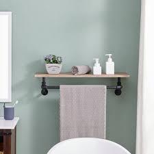 decor 24 shelf bathroom shelf with