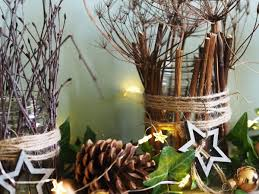 Decorated Jam Jars For Christmas Jam Jar Christmas How To Decorate With Garden Clippings The 43