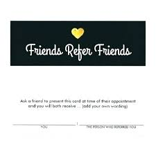 Free Refer A Friend Template This