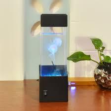 Einzigartige Led Farbwechsel Licht Qualle Aquarium Usb Lampe