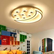 lighting for nursery room. Nursery Ceiling Light Star And Moon Children Kids Room Bedroom Living Lights Lighting For D