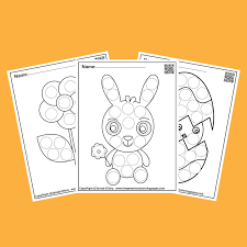 Apart from the individual letter worksheets, we will also provide with two additional kindergarten & preschool worksheets. Spring Dot Marker Free Coloring Pages