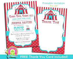 Circus Party Invitation Enchanting Circus Invitations Free Printable Turismolosrios