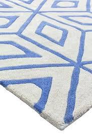 blue beige rug sofia