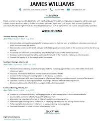 Lead Teller Resume Examples Teller Resume Examples Savebtsaco 18