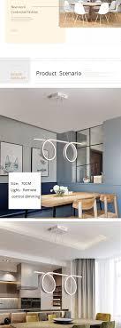 Großhandel Moderne Pendelleuchten Led Lampe Pendelleuchten Esszimmer Küche Restaurant Hängeleuchte Dimmbar Mit Remote Leuchten Von Sebastiani 29956