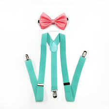 Mint and coral Rose Gold Image Etsy Mint Suspenders Coral Bowtie Mint Suspender Mint Green Etsy