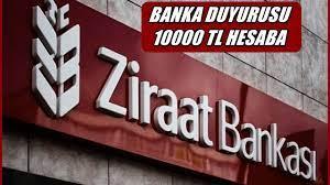 Ziraat Bankası Son 2 Gün İçin Nakit 10000 TL Veriyor, D...