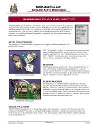 Transient Protection Design Hybrid Designs Enhance Surge Protection