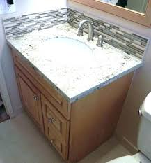 bathroom countertop replacement