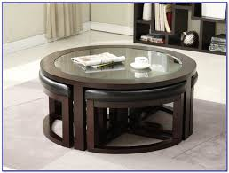 lovely round coffee table with chairs underneath with round coffee table with seats underneath coffee table home