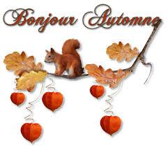 Afbeeldingsresultaat voor bonjour l'automne