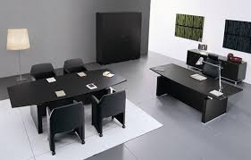 office black. Black Office Furniture And To The Inspiration Your Home 9 N