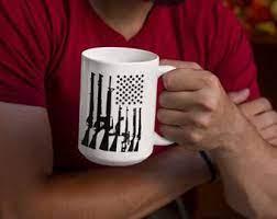 Gun tree christmas themed coffee mug glamourtribecustoms 5 out of 5 stars (2,305) $ 15.00. Gun Coffee Mug Etsy