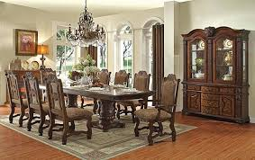 Thurmont Victorian Formal Dining Table Set
