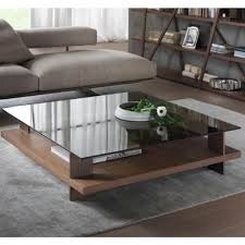 Glass Coffee Table 48 Square Pacini Corallo S