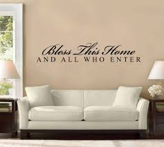 Small Picture 48 Bless This House and All Who Enter Large Wall Decal Sticker