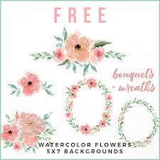 Feel free to download our free svg files for cricut and silhouette craft projects. Free Peachy Pink Watercolor Flower Collection Free Pretty Things For You Pink Watercolor Flower Free Watercolor Flowers Watercolor Flowers