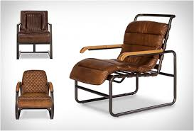 Vintage Leather Chairs | By Sarreid | Image