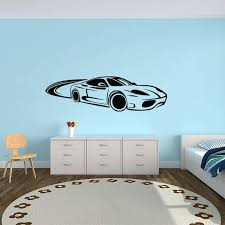 mercedes car wall decal kcwalldecals decals and