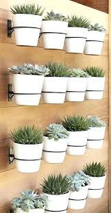 metal planters outdoor modern hanging pots on wall planter metal planters garden indoor outdoor p metal garden planters uk