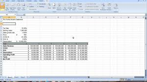 excel income statement proforma income statement in excel professional pinterest