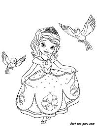 sophia the first coloring pages printable princesses the first coloring pages princess sofia coloring pages pdf