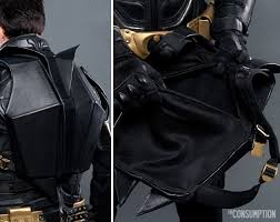 the dark knight rises leather motorcycle backpack