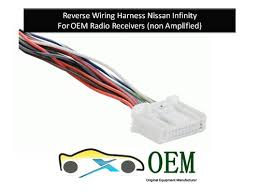 amazon com car stereo reverse wiring harness for nissan infinity EZ Wiring Harnesses for Cars at Car Accessories Wire Harness