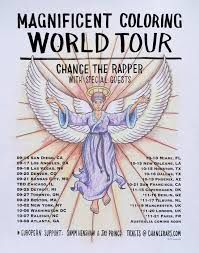 Chance The Rapper Coloring Book Tourl