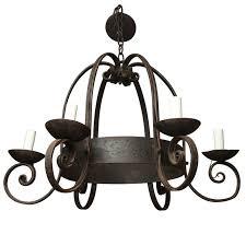 napoleon iii cast iron chandelier for