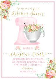 Kitchen Shower Kitchen Bridal Shower Invitation Kitchen Shower Invitation