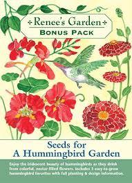 Small Picture Seeds for a Hummingbird Garden Bonus Pack Renees Garden Seeds